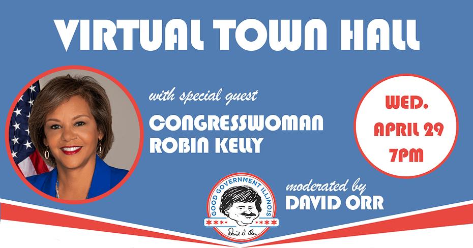 Congresswoman-Robin-Kelly-Virtual-Town-Hall-Good-Government-Illinois